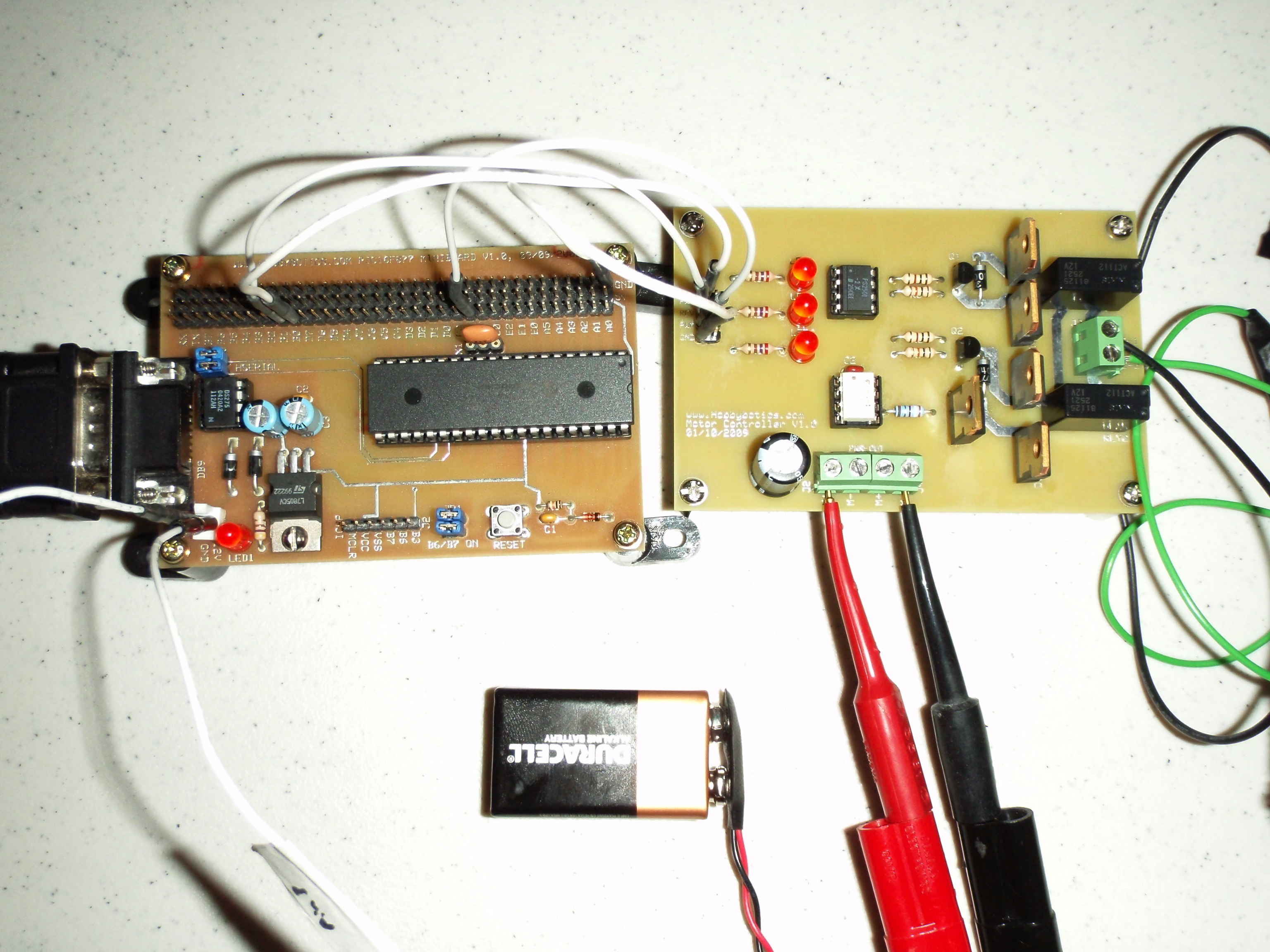 Hobbybotics Motor Controller V10 Control Circuits Besides Basic Electrical Wiring To Share The Same Power Source I