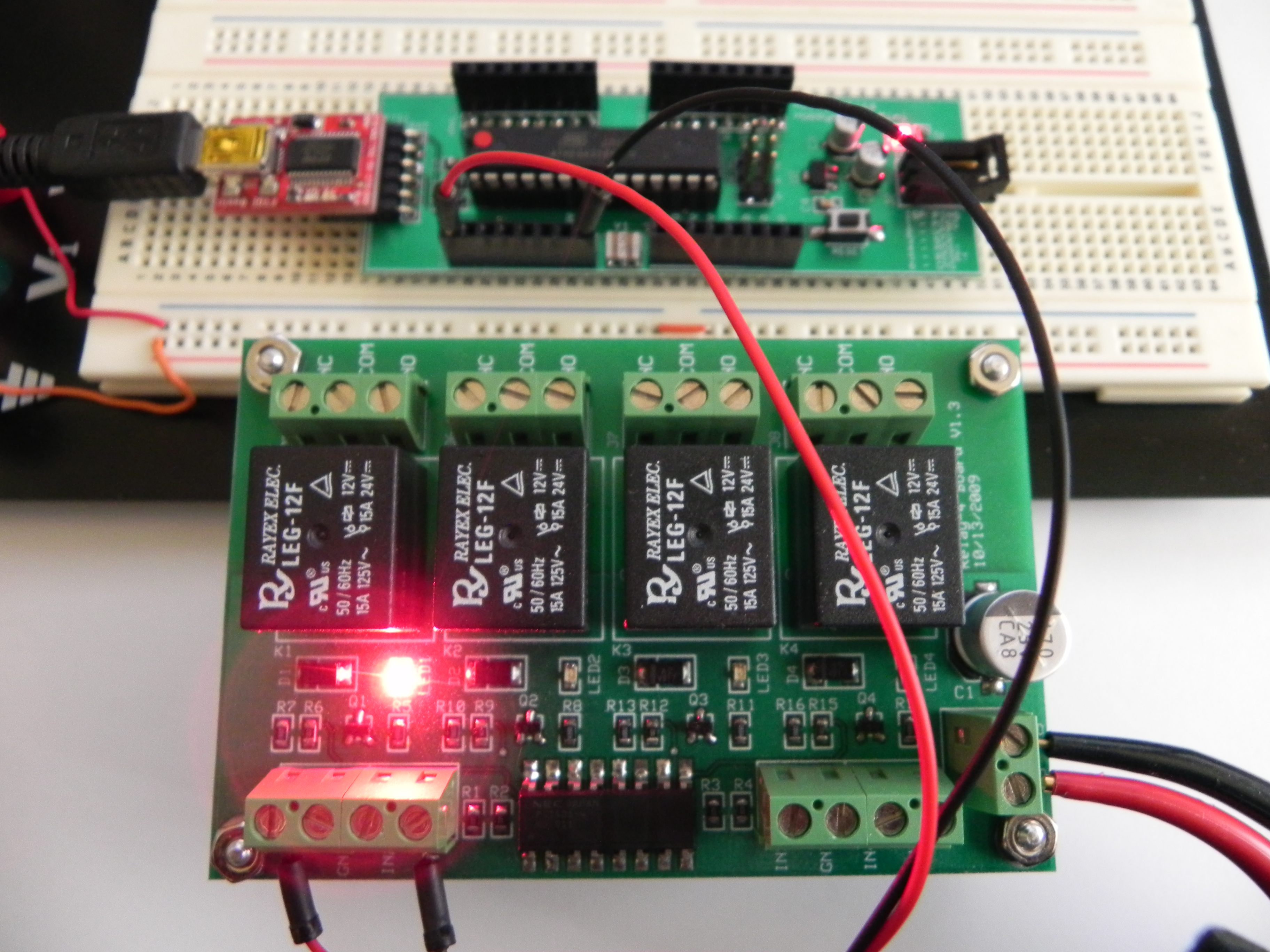 Hobbybotics Optoisolated Relay Controller Basic Control Circuit This Completes The