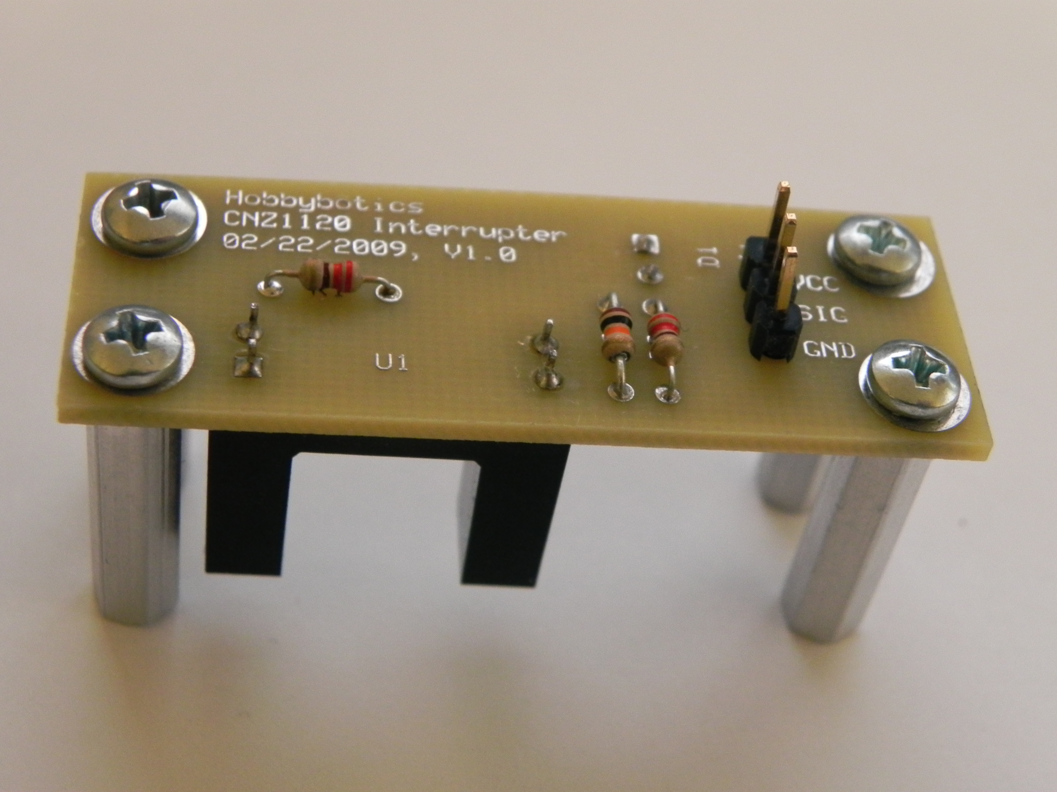 Photo Interrupter Switch Circuit Connecting A Optoisolator To An Arduino Martyn Hobbybotics 3648x2736
