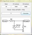 VoltageDividerCalculator