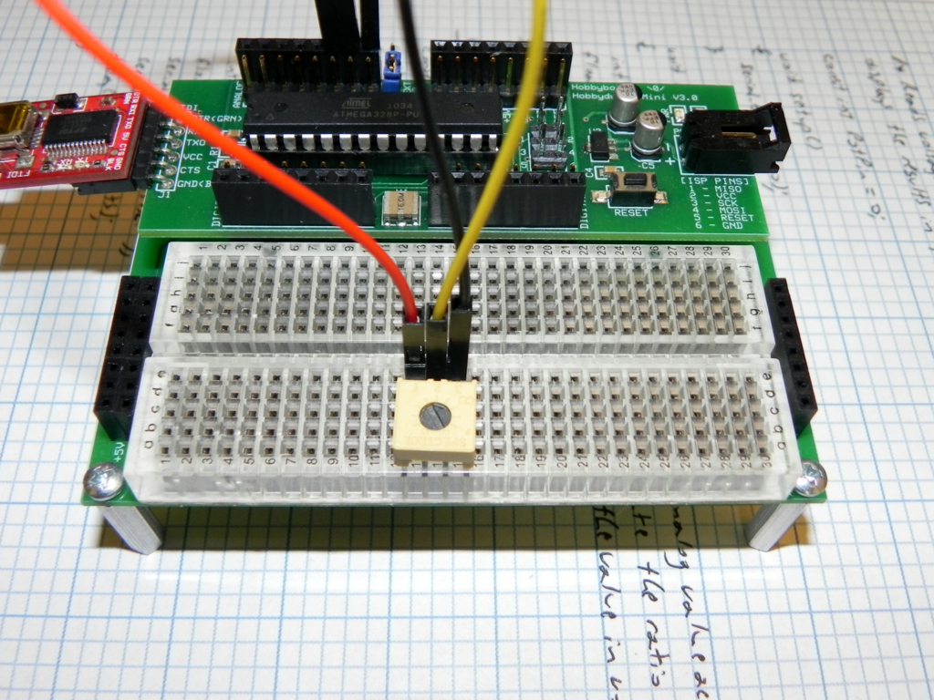 Tutorial – Measure Voltage Across a Potentiometer | Hobbybotics