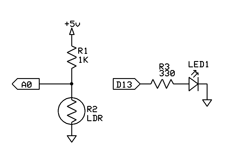 tutorial  u2013 use a light dependent resistor  ldr  to measure