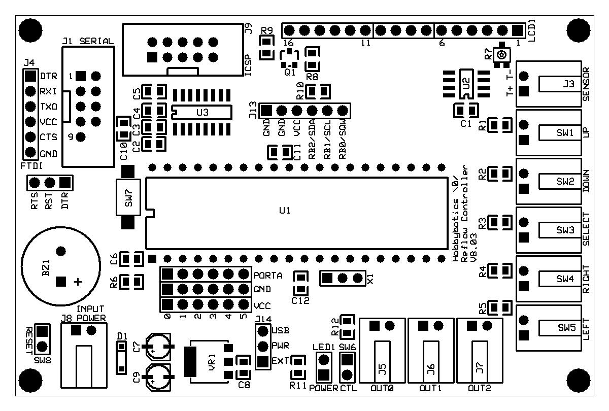 hobbybotics reflow controller v8 03